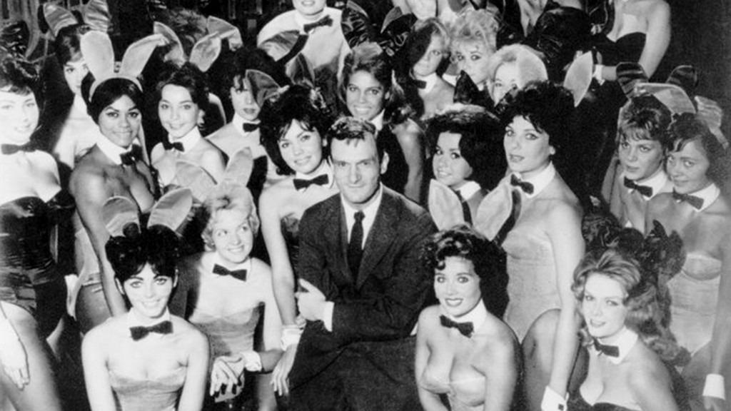 Hugh Hefner at Chicago Club in 1960s