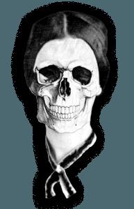 Emily Dickinson Skull